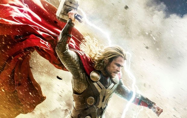 Thor Lighting Strike (click to view)