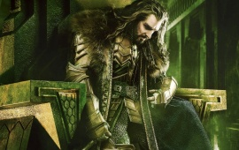 Thorin Oakenshield in The Hobbit