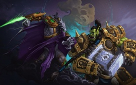 Thrall Vs Zeratul Heroes Of The Storm