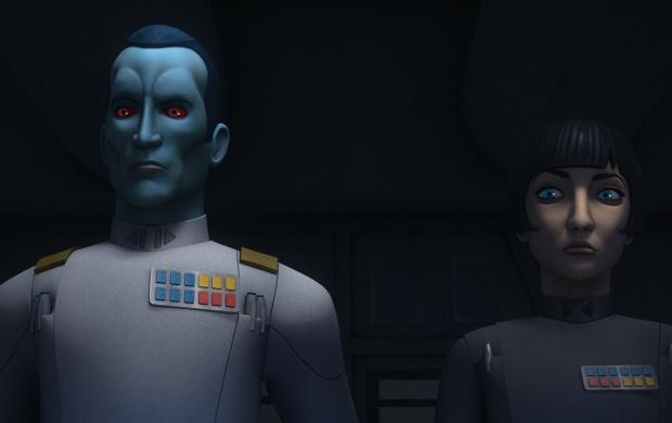 Thrawn Star Wars Rebels Season 3 Wallpapers