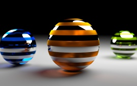 Three Color Spheres