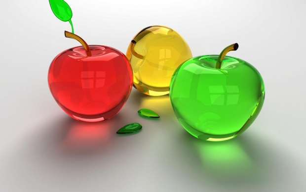 Three Colored Apples (click to view)