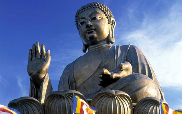 Tian Tan Buddha (click to view)