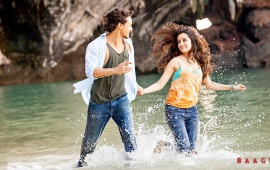 Tiger And Shraddhas In Baaghi Movie