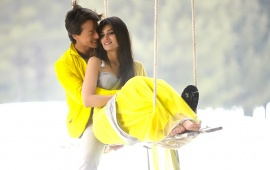 Tiger Shroff And Kriti Sanon Heropanti