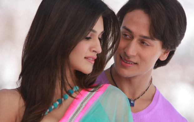 Tiger Shroff And Kriti Sanon In Heropanti (click to view)