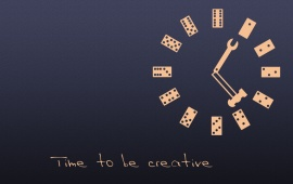 Time To Be Creative
