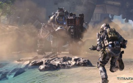 Titanfall Shooter Video Game 2014