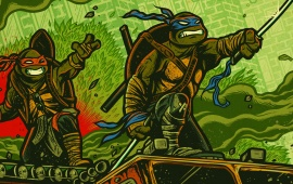 TMNT Out Of The Shadows Cartoon Poster