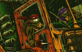 TMNT Out Of The Shadows Cartoon Turtle