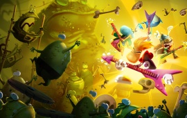 Toads And Rock And Roll Rayman Legends