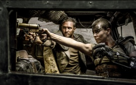 Tom And Charlize Mad Max Fury Road