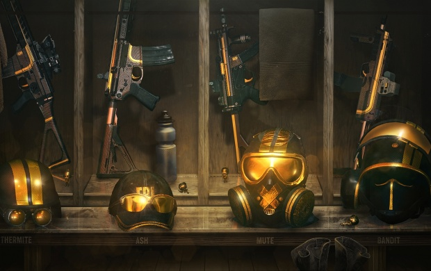 Tom Clancy's Rainbow Six Siege Gold Gear (click to view)