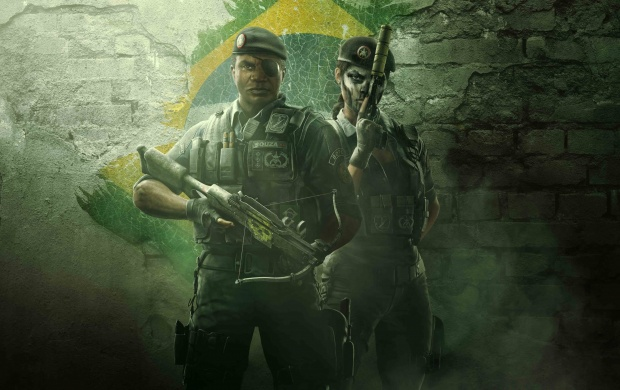 Tom Clancy's Rainbow Six Siege Operation Skull Rain BOPE Operators (click to view)