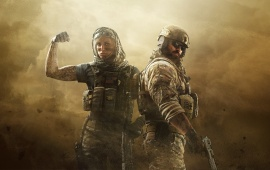 Tom Clancy's Rainbow Six Siege Operators Key Art