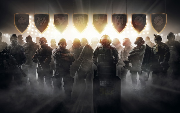 Tom Clancy's Rainbow Six Siege Pro League (click to view)