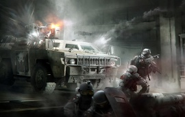 Tom Clancy's The Division Incursions Tank Boss Concept Art