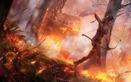 Tomb Raider In Fire