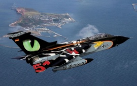 Tornado Tigermeet Eye Tiger Aircraft