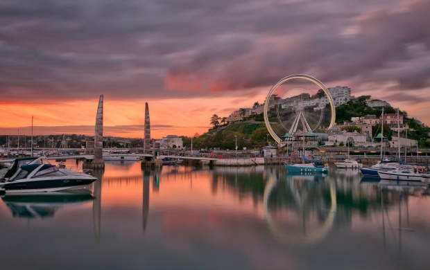 Torquay Dusk (click to view)