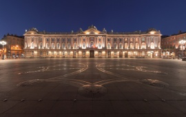 Toulouse Capitole Night