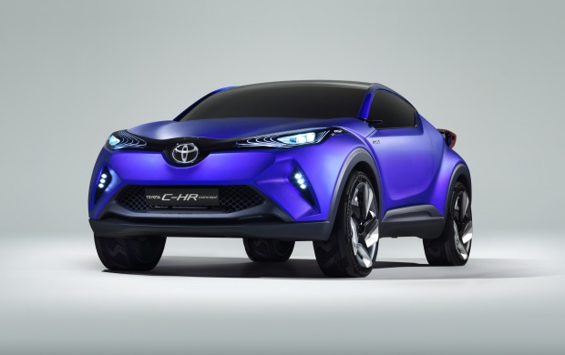 Toyota C-HR Concept 2014 (click to view)