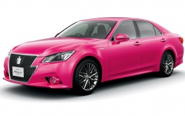 Toyota Crown S210 Hybrid Athlete Pink 2013