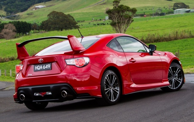 Toyota GT 86 GTS Back Side (click to view)