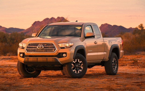 Toyota Tacoma TRD Off-Road 2016 (click to view)