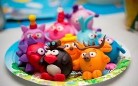 Toys In Plate