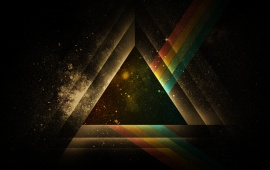 Triangle Shape Graphic Abstract