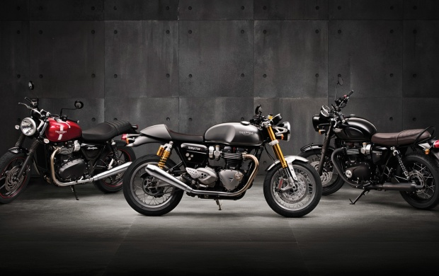 Triumph Street Twin Black 2016 (click to view)