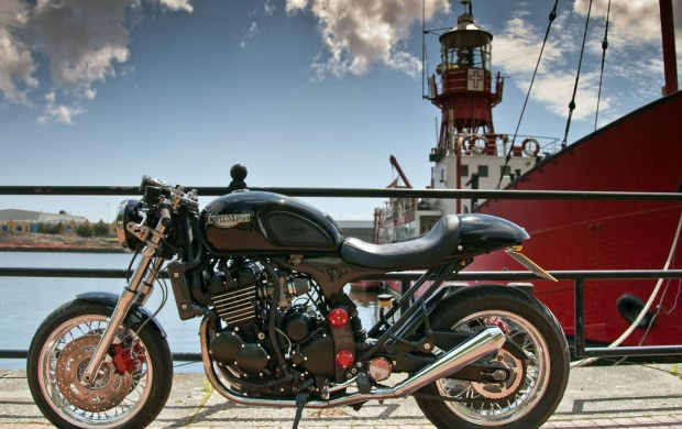 Triumph Thunderbird Cafe Racer (click to view)
