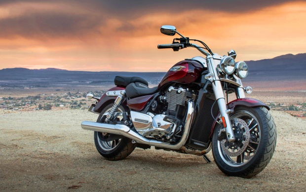 Triumph Thunderbird Commander First Ride (click to view)