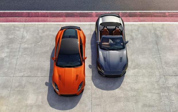 Two Cars Jaguar F Type SVR V3 2000 2017 (click to view)