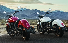 Two Indian Scout Sixty 2016