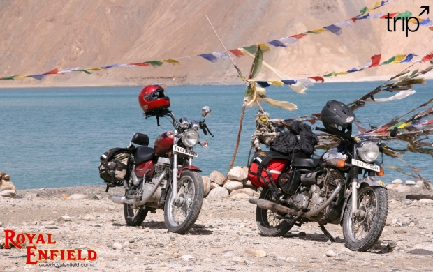 Two Royal Enfield (click to view)