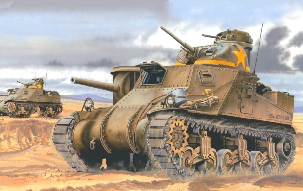 U.S. Medium Tank M3 Lee (click to view)