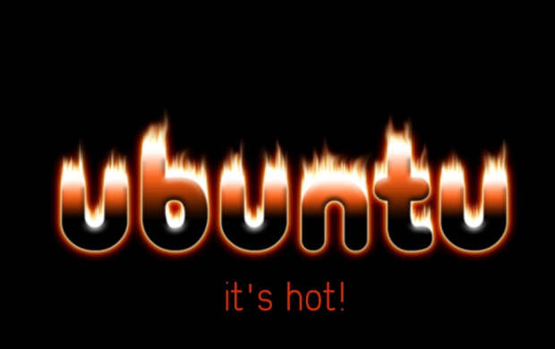 Ubuntu Its Hot (click to view)