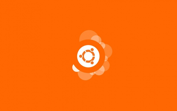 Ubuntu Orange Background (click to view)