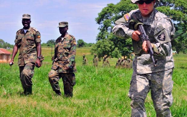 Ugandan Armed Forces (click to view)