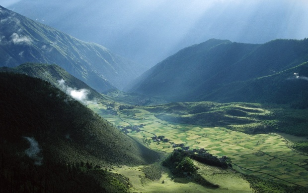 Ultimate Village in Tibet (click to view)