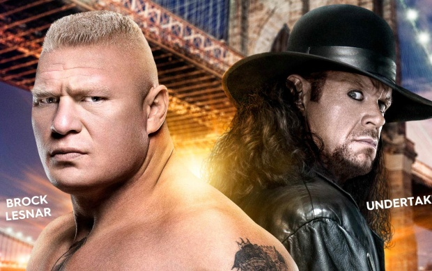 Undertaker And Brock Lesnar WWE (click to view)
