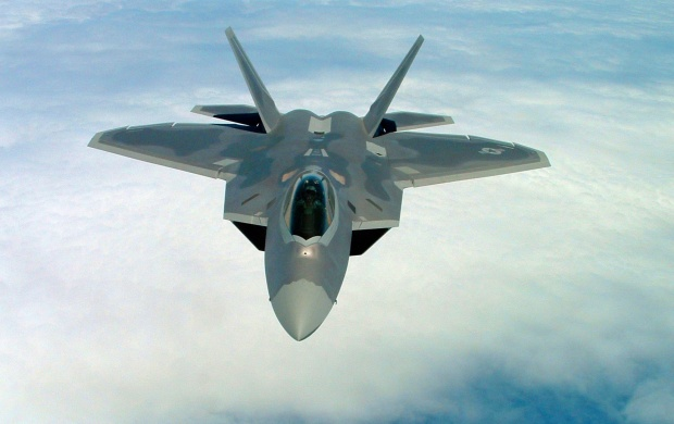 US Air Force F-22 Raptor (click to view)