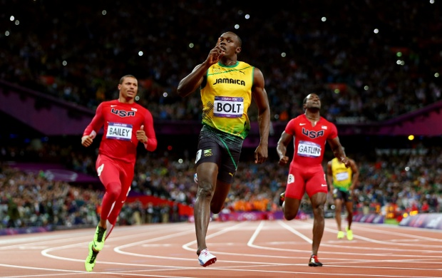 Usain Bolt In Olympics (click to view)