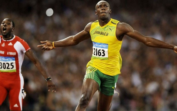 Usain Bolt Running (click to view)