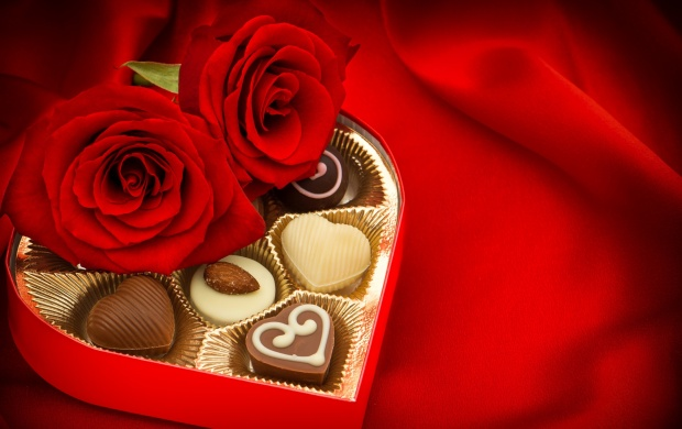 Valentines Day Candy And Chocolate (click to view)