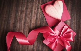 Valentines Day Pink Gift Love