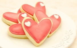 Valentines Day Sweet Heart Cookies