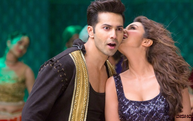 Varun Dhawan And Parineeti Chopra In Dishoom (click to view)